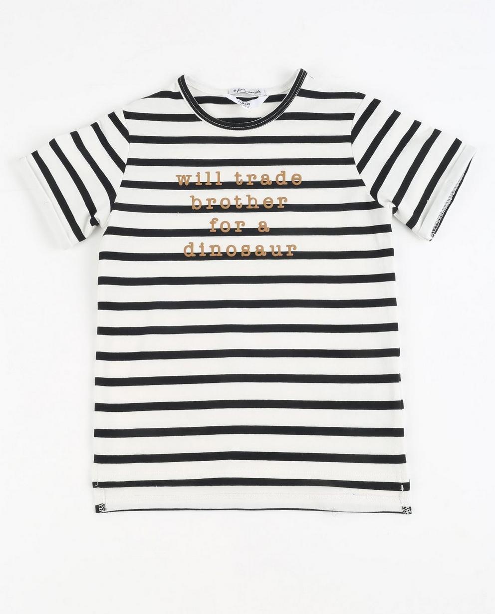 Gestreept T-shirt - #familystoriesjbc - JBC